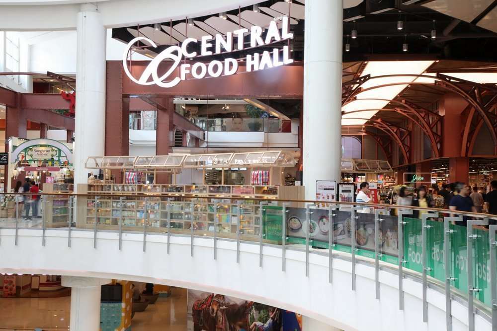 Central Food Hall CentralWorld, the new destination for food aficionados and a world-class food store