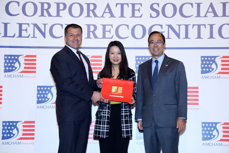 Central Food Retail Group received 2019 AMCHAM CSR Excellence Recognition Award in Gold Level