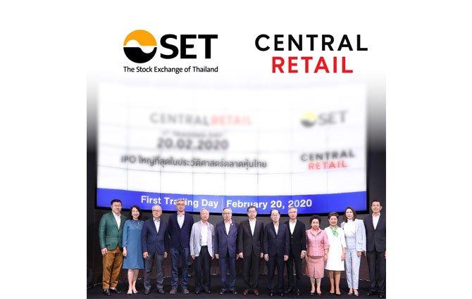 หุ้น CRC ได้รับคัดเลือกเข้าร่วม FTSE SET Large Cap Index
