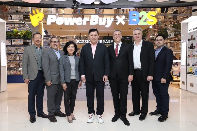 'PowerBuy x B2S' launch a pioneering collaborationunveiling the largest breakthrough flagship store in Thailand with an investment of THB100 million, with an aim to grow sales by 20-30%