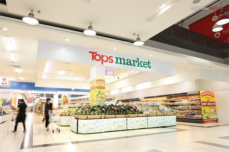 Central Retail boosts food portfolio with its first Tops Market store in Vietnam, aiming to serve all customer segments while continuing its business expansion plan