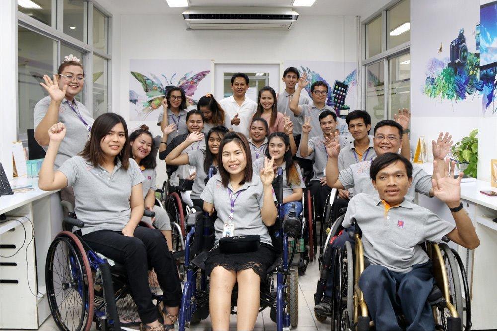 Developing Quality of Life for Disabled People