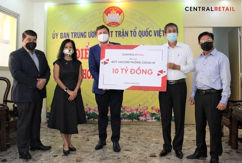 CRC Vietnam donates VND 10 Billion