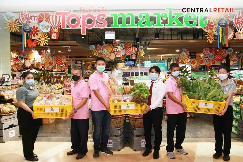 """""""Tops"""" and Association of Major Religious Superiors in Thailand  share surplus food via """"Care and Share Food for All"""" project"""