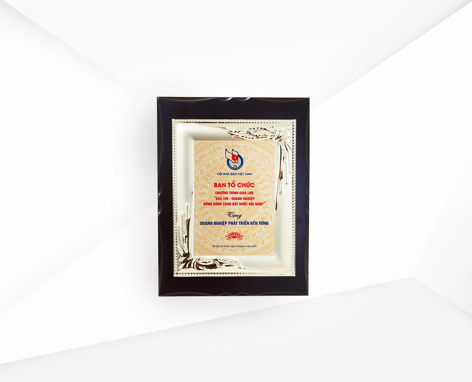 Recognition of Sustainable Business by Vietnam Journalists Association